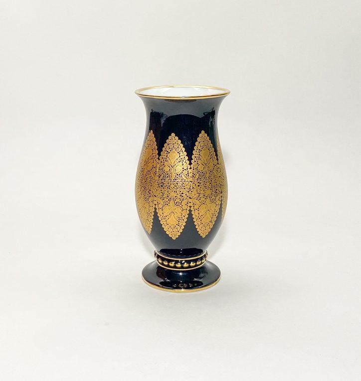 Кобальтовая ваза Hutschenreuther Вид 3