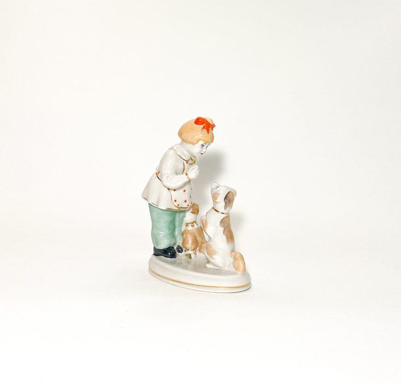 Фарфоровая статуэтка А ну-ка, отними Вид 1