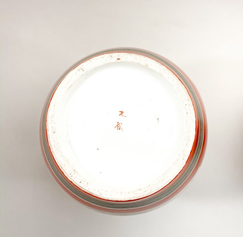 Пара старинных японских ваз Кутани Вид 4