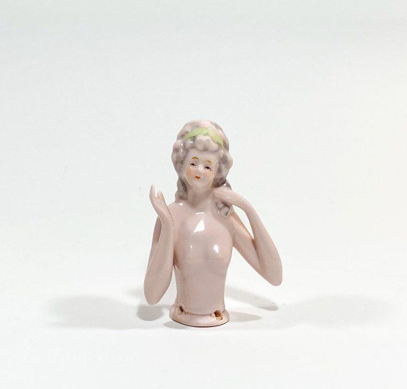Фарфоровая кукла half doll Вид 2