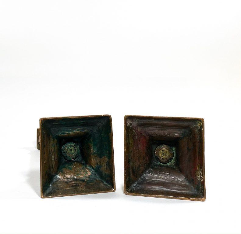 Подсвечники бронза Франция 19 век Вид 3
