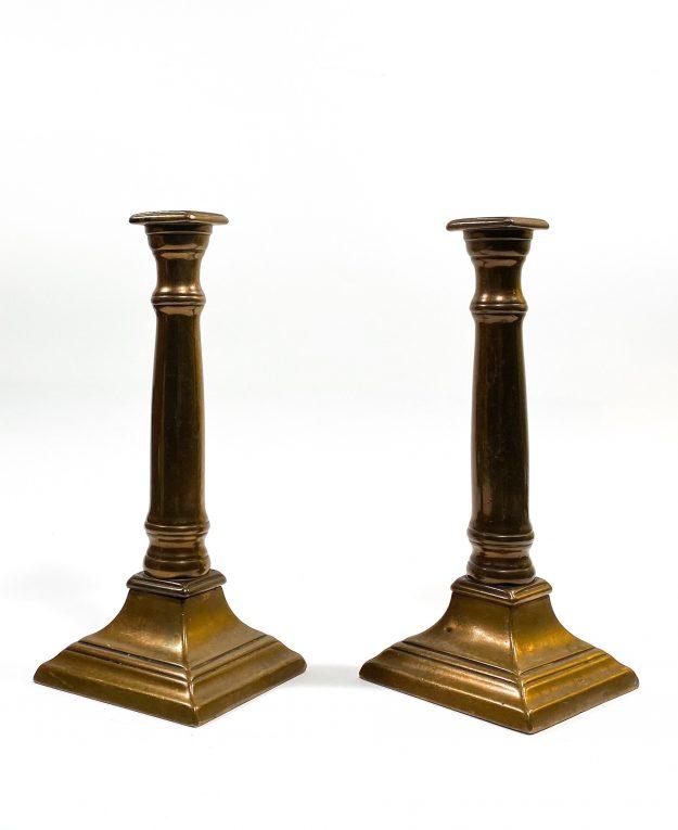 Подсвечники бронза Франция 19 век Вид 2