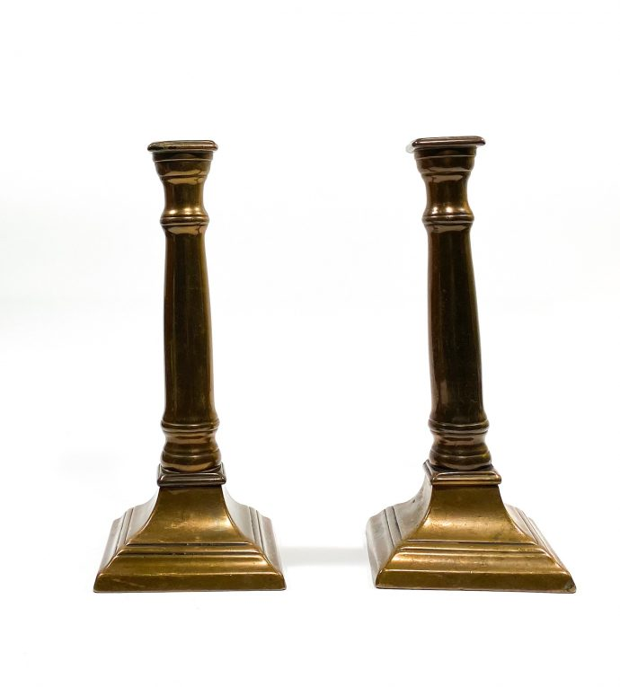 Подсвечники бронза Франция 19 век Вид 1