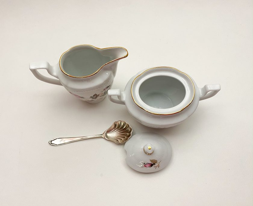 Кофейный набор сахарница и молочник Вид 3