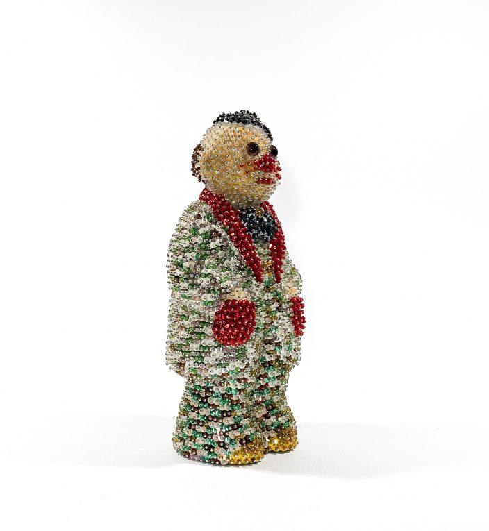 Винтажная фигурка клоуна Вид 4