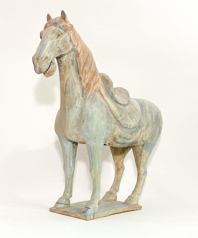 Скульптура Конь династии Танг Вид 3