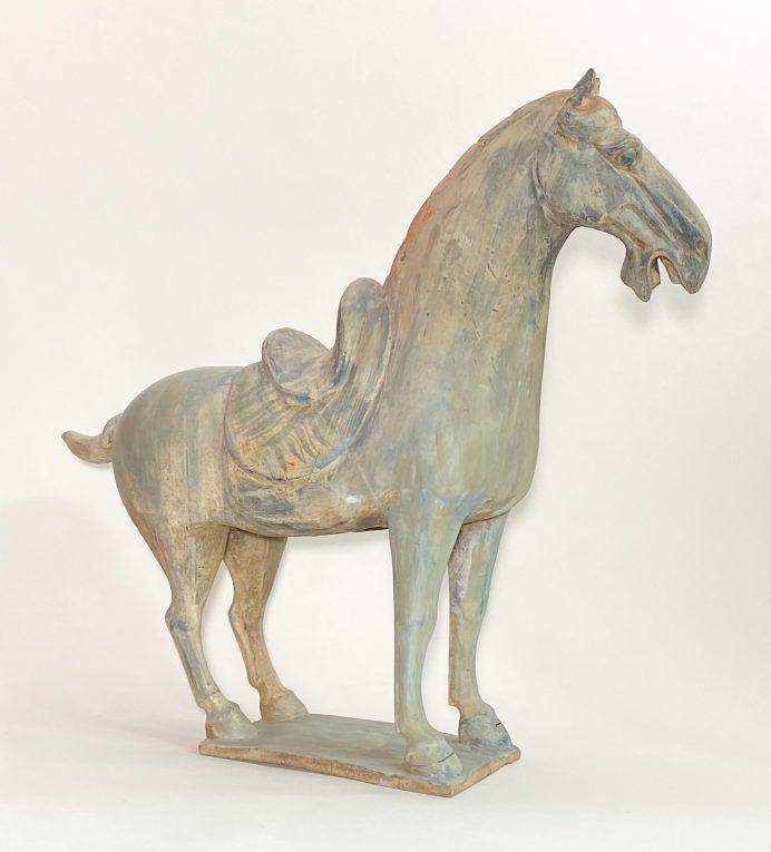 Скульптура Конь династии Танг Вид 2