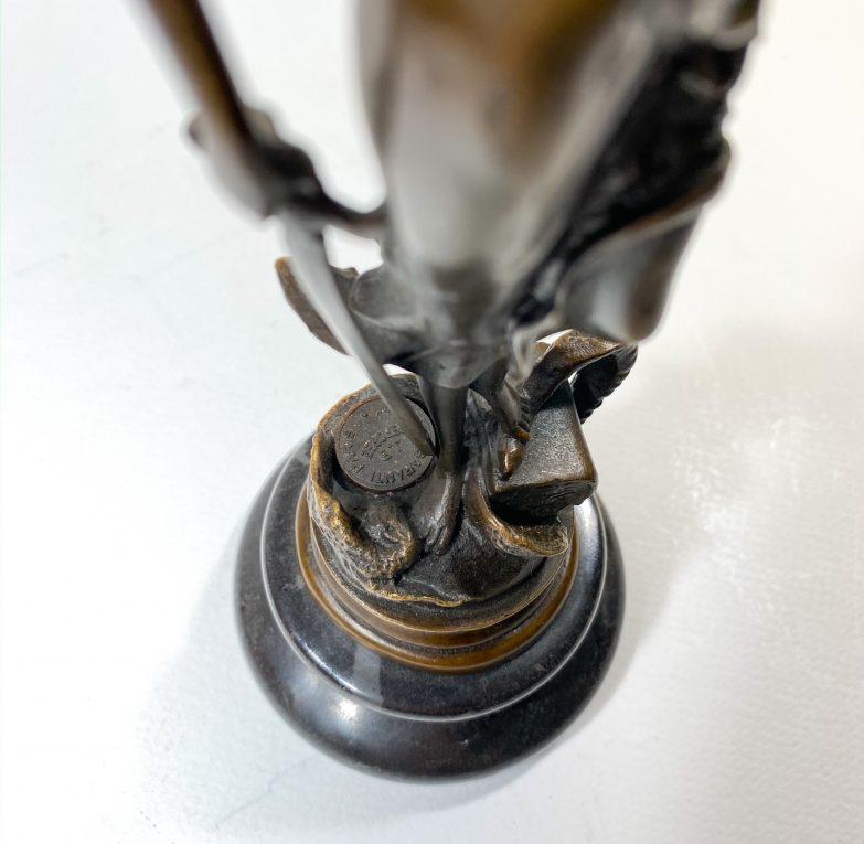 Бронзовая статуэтка Фемида Вид 4