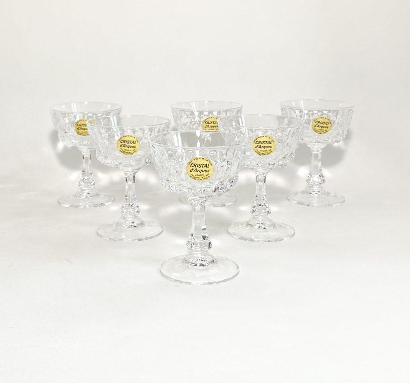 Хрустальные бокалы для игристого вина Cremant Вид 2
