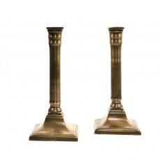 Пара подсвечников бронза Франция 19 век