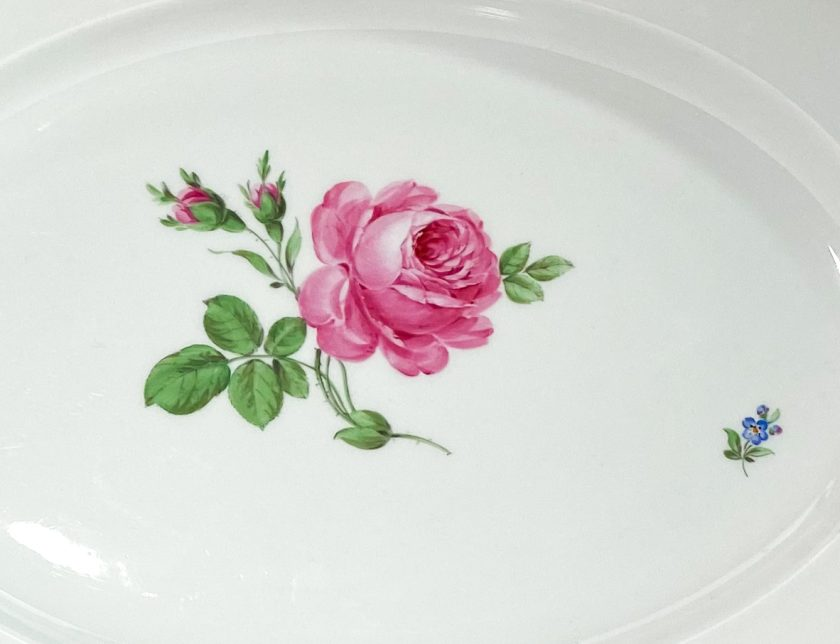 Фарфоровое блюдо Meissen Мейсен Вид 1