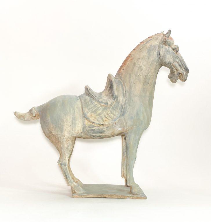 Скульптура Конь династии Танг Вид 1