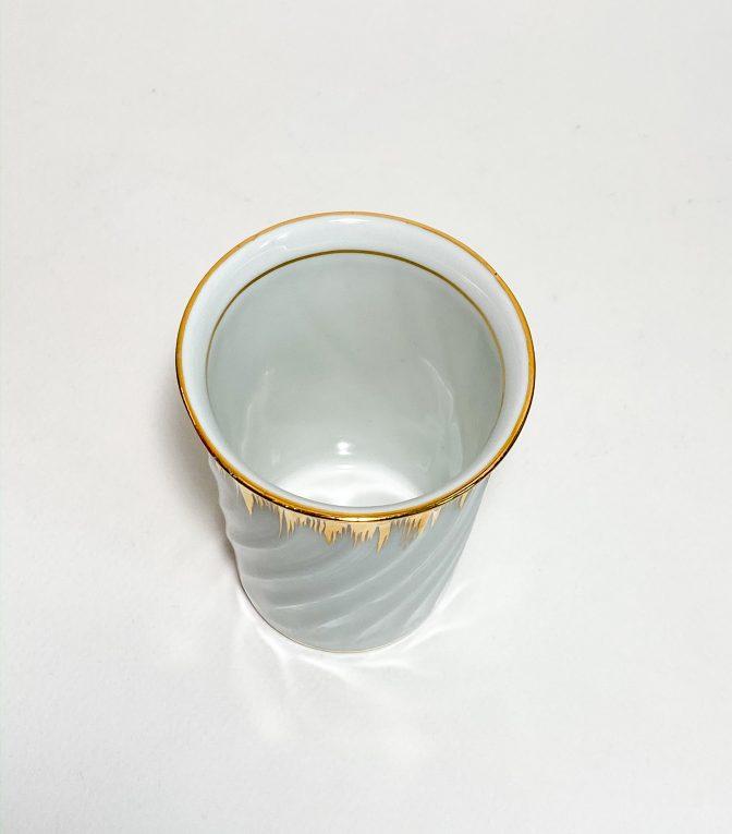 Фарфоровый стаканчик Лимож Вид 2