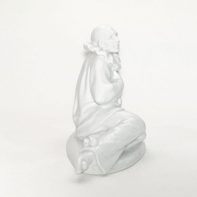 Фарфоровая статуэтка Клоун Вид 2