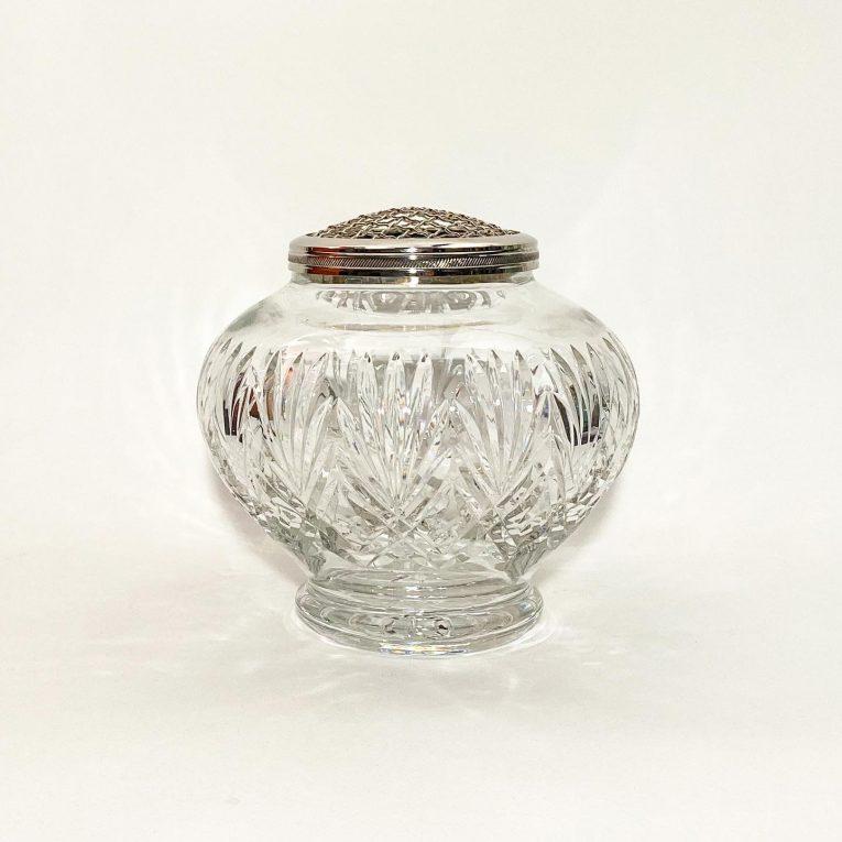 Хрустальная ваза-роузбол Вид 3