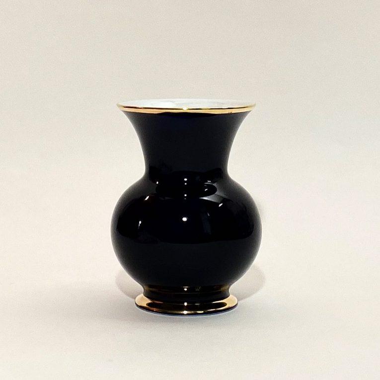 Кобальтовая ваза Цветы Вид 1