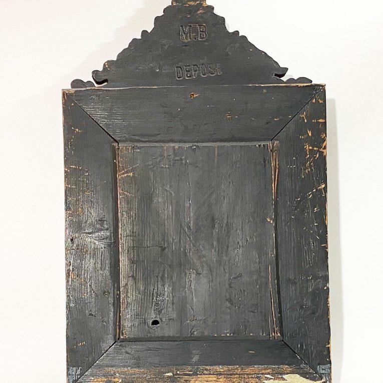 Зеркало в раме с бронзовыми накладками Вид 2