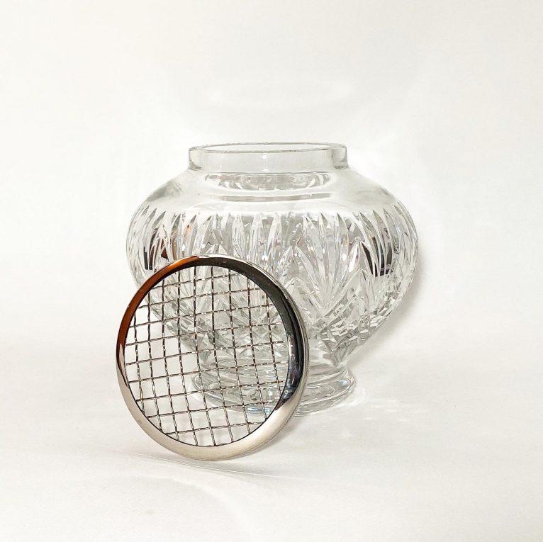 Хрустальная ваза-роузбол Вид 1