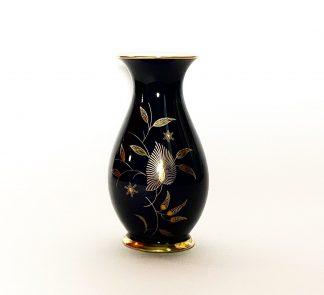 Кобальтовая ваза Листья