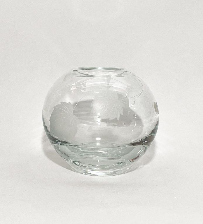 Хрустальная ваза Шар