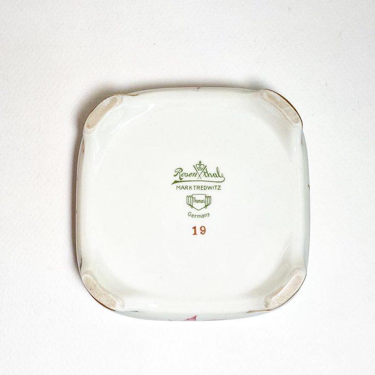 Фарфоровая шкатулка Rosenthale Вид 3