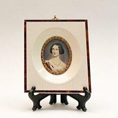 Живописная миниатюра портрет Принцессы Марии Баварской